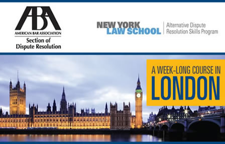 New York Law School Week Long Course in London