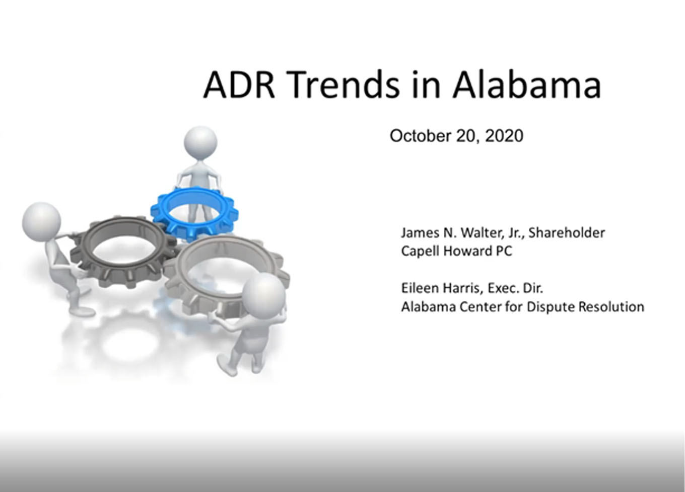 ADR Trends in Alabama