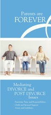 Mediation, Parents are Forever brochure